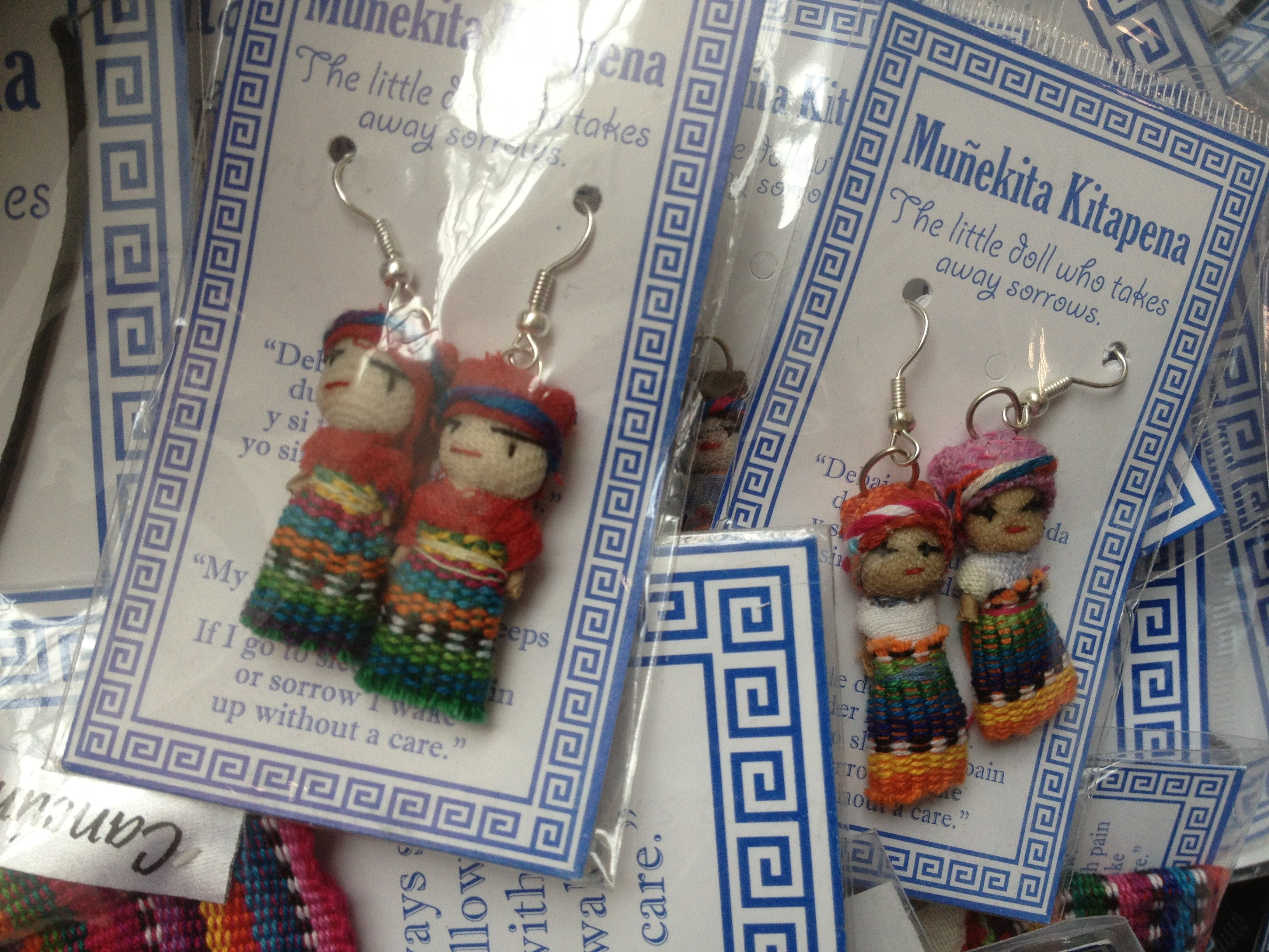 Worry Dolls - South American traditions